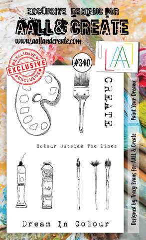 Aall & Create: Paint Your Dreams #340  - leimasinsetti