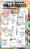Aall & Create: Felines #408  - leimasinsetti