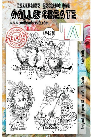 Aall & Create : Basic Fruits #450 - leimasinsetti