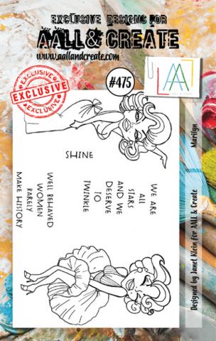 Aall & Create: Marilyn #475 - leimasinsetti