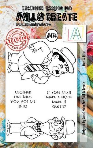 Aall & Create: Stan & Ollie #474 - leimasinsetti