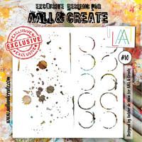 Aall & Create STENCIL  #10 - sabluuna