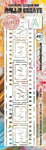 Aall & Create STENCIL : Film Strip #82 - sabluuna