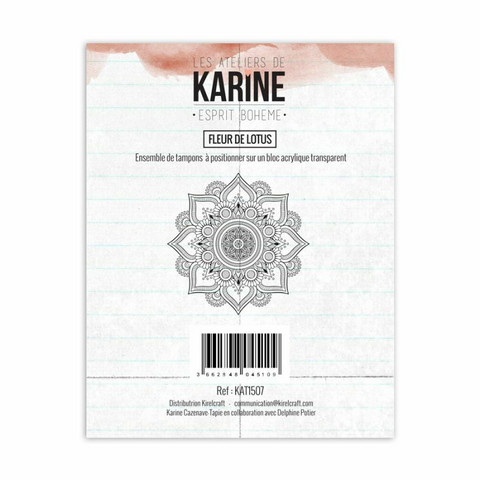 Les Ateliers De Karine: Fleur Se Lotus - leimasin