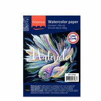 Vaessen Creative: Florence Smooth Black 300gsm akvarellipaperipakkaus A5 / 15 arkkia