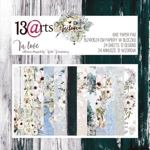 13arts: In Love 6x6 - paperikokoelma