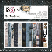 13arts: Mr Handsome 6x6 - paperikokoelma