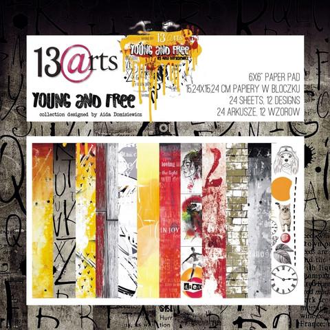 13arts: Young And Free 6x6 - paperikokoelma
