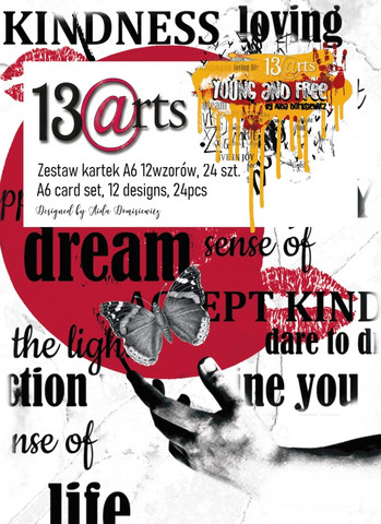 13arts: Young And Free A6 - paperikokoelma