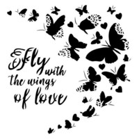 13arts: Wings Of Love 6 x 6 -sabluuna