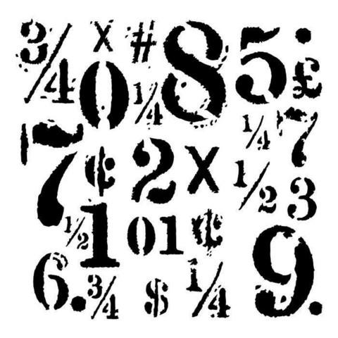 13arts: Big Numbers 6 x 6 -sabluuna