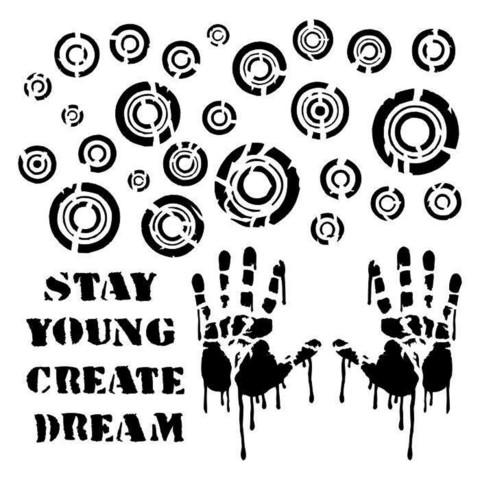 13arts: Stay Young 6 x 6 -sabluuna