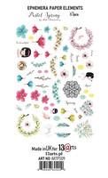13arts: Pastel Spring Die Cut Ephemera