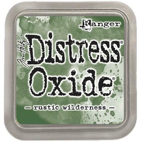 Distress Ink Oxide: Rustic Wilderness -mustetyyny