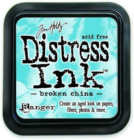 Distress Ink: Broken China -mustetyyny