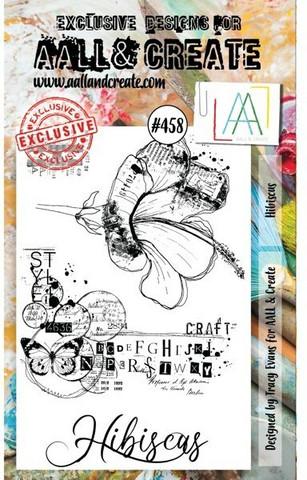 Aall & Create: Hibiscus #458  - leimasinsetti