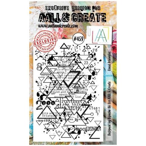 Aall & Create: Lined Triangles #459 - leimasinsetti