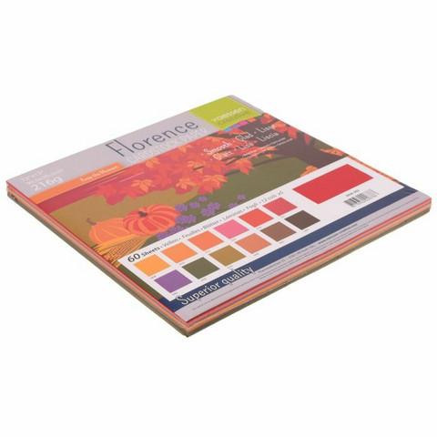 Florence: Autumn Smooth 12x12 (30,5 x 30,5 cm) -kartonkipakkaus