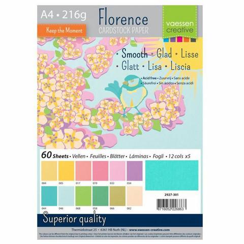 Florence: Spring Smooth A4 -kartonkipakkaus
