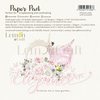 Lemoncraft: Elegance 6x6 -paperilehtiö