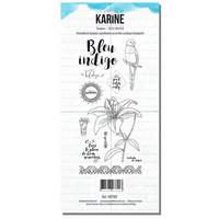 Les Ateliers De Karine: Bleu Indigo - leimasinsetti