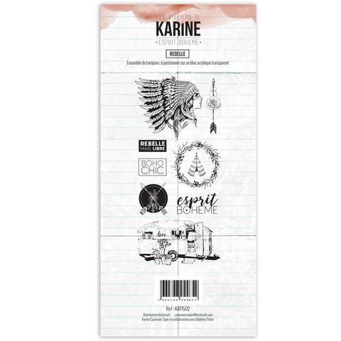 Les Ateliers De Karine: Esprit Boheme Rebelle - leimasinsetti