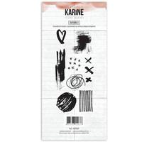 Les Ateliers De Karine: Esprit Boheme Textures 1- leimasinsetti