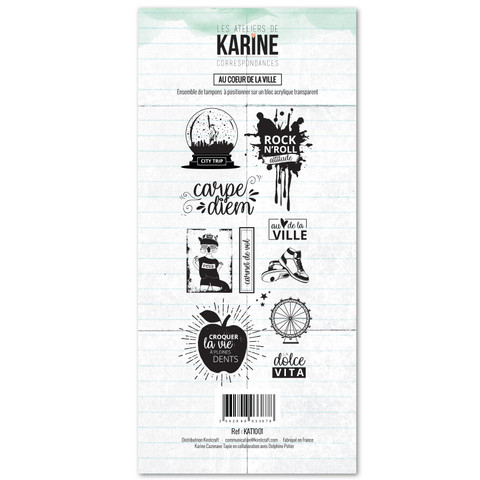 Les Ateliers De Karine: Correspondances Ay Couer Du Ville- leimasinsetti