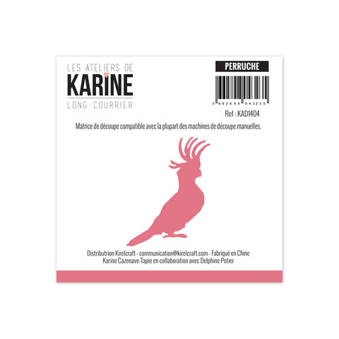 Les Ateliers De Karine: Perruche (Kakadu) - stanssi