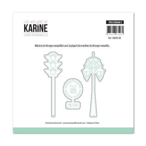 Les Ateliers De Karine: Trio Urbain 2 - stanssisetti