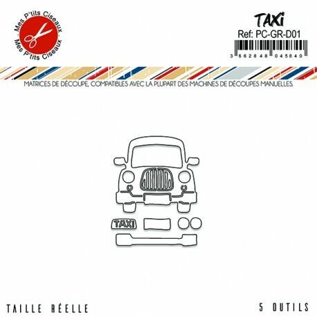 Mes Petit Ciseaux: Taxi - stanssisetti