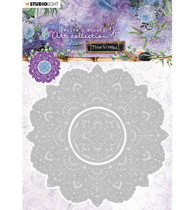 Studio Light: Jenine's Mindful Art Collection - Time To Relax  #12- stanssisetti