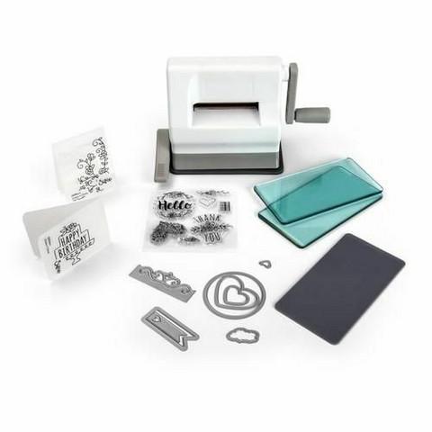 Sizzix Sidekick Starter Kit  - White & Grey Edition