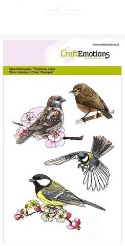 Craft Emotions: Birds - kirkas leimasinsetti