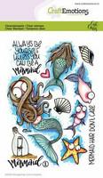Craft Emotions: Carlas Creaties - Mermaid 1 - kirkas leimasinsetti