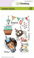 Craft Emotions: Carlas Creaties - Party 1 - kirkas leimasinsetti
