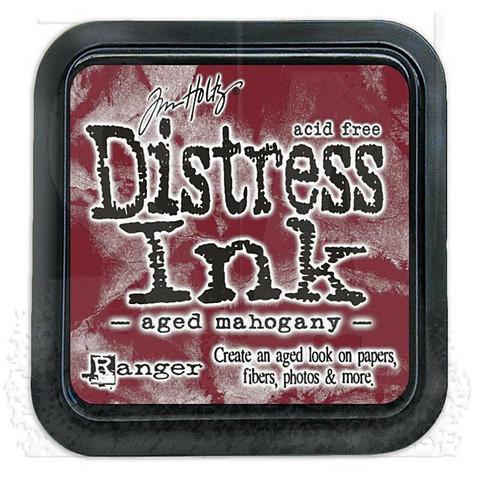 Distress Ink: Aged Mahogany -mustetyyny