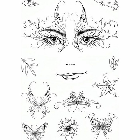 Pink Ink Design: Thalia A5  - leimasinsetti