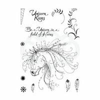 Pink Ink Design: Unicorn A5  - leimasinsetti