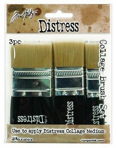 Tim Holtz Collage Brush Set - sivellinsetti