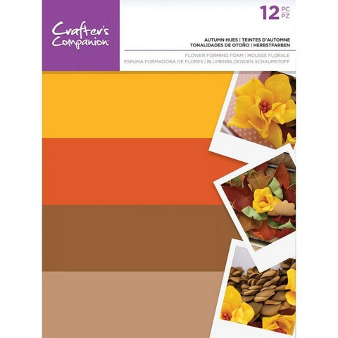 Crafter's Companion Flower Forming Foam: Autumn Hues