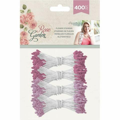 Crafter's Companion heteet  400 kpl -  Rose Garden 2 mm