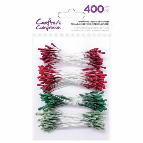 Crafter's Companion heteet  400 kpl -  Holiday Hues 2 mm