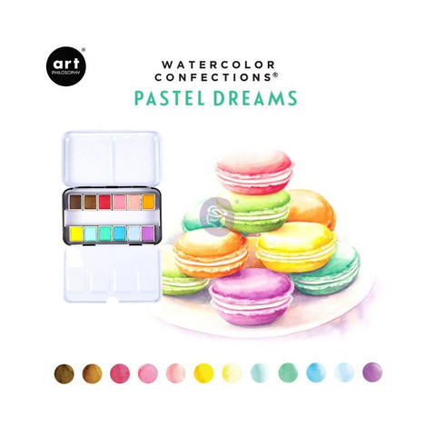 Prima Art Philosophy Watercolor Confections: Pastel Dreams