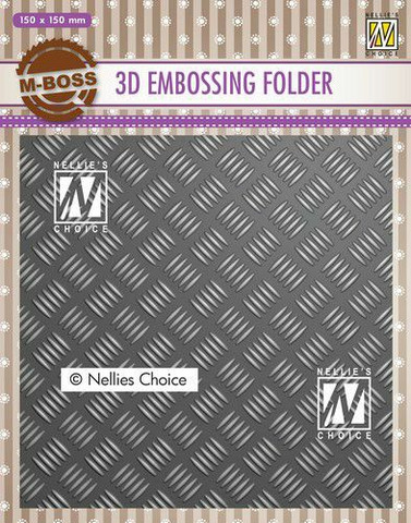 Nellie's Choice: Stripe Pattern 3D - kohokuviointikansio