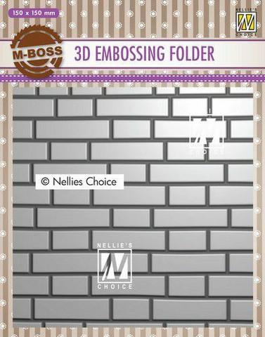 Nellie's Choice: Brick Wall 3D - kohokuviointikansio