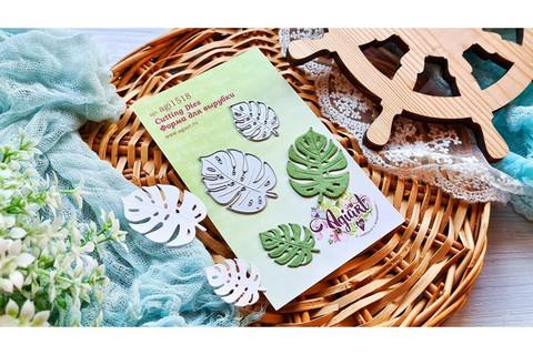 Agiart: Monstera Leaves (Peikonlehti) -stanssisetti