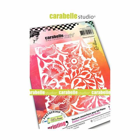 Carabelle Studio Texture Plate: Fleurs by Alexis