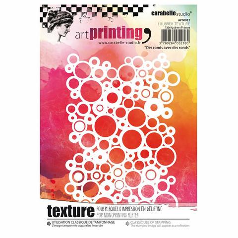 Carabelle Studio Texture Plate: Des ronds avec des ronds by Alexis