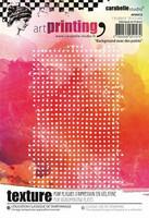 Carabelle Studio Texture Plate: Background avec des points